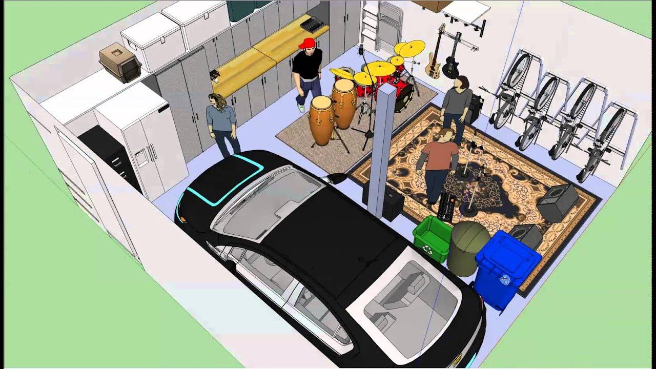 garage layout video - Garage Layout