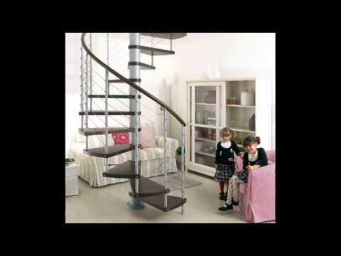 Креативные  винтовые лестницы