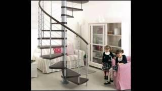 Креативные  винтовые лестницы(Креативные винтовые лестницы всегда приковывают к себе взгляд. Они почти всегда подходят под все и во всем!..., 2015-01-04T09:52:14.000Z)