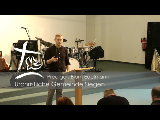UGS - Predigt vom 09.02.2020 - Björn Edelmann - Thema: Jesaja 58