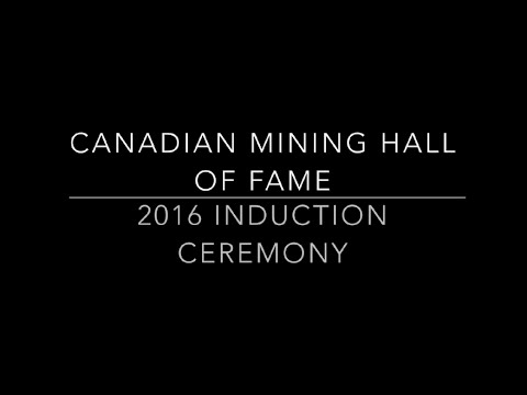 CMHF 2016 Induction Ceremony