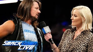 AJ Styles addresses the WWE Title Fatal 5-Way Match at WWE Fastlane: SmackDown LIVE, Feb. 20, 2018