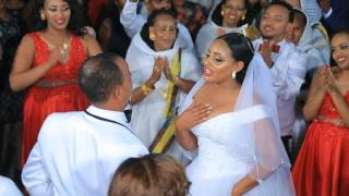 Frita and Andi's wedding ceremony  - Ethiopian wedding