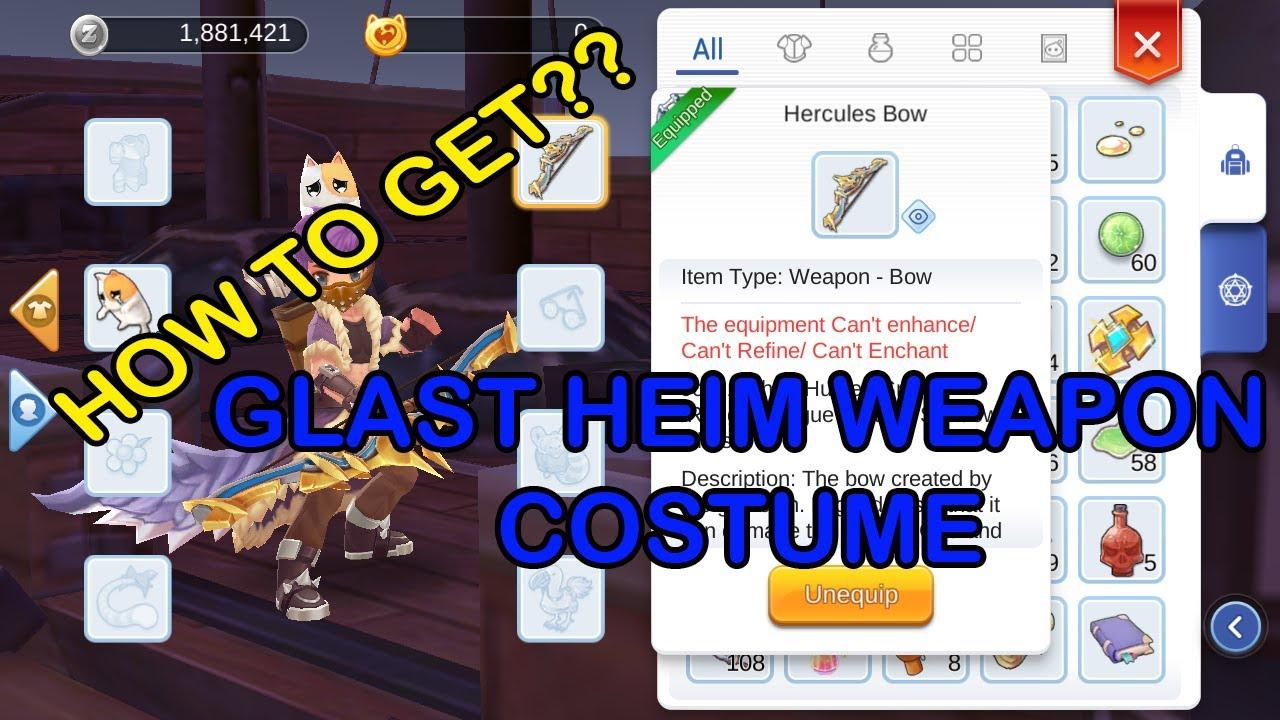 Ragnarok Mobile Costume Quest