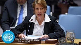 Myanmar: Briefing by Special Envoy of UN Secretary-General