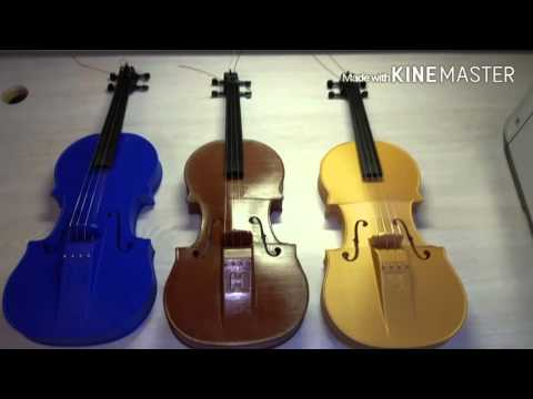 3D printed violin Hovalin review