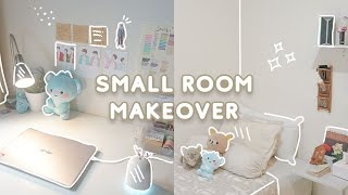 SMALL BEDROOM MAKEOVER 🌱 minimalist on a budget + room tour   Indonesia screenshot 2