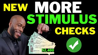 JUST NOW!! Second Stimulus Check Update $2400 +$4500 + SSI SSDI + Unemployment Benefits