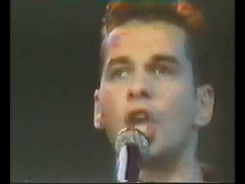 Depeche Mode  Never Let Me Down Again Na Siehste ZDF Germany 30.08.1987
