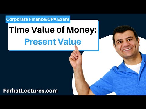 Present value and discounting corporate finance ch 5 op 2