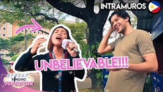 Can FILIPINOS Sing??? Intramuros