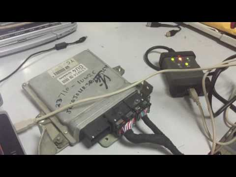Nissan ecu programming - YouTube