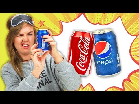 Irish People Blind Taste Coke Versus Pepsi