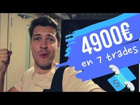 4900€ EN DEUX SEMAINES DE DAY TRADING FOREX