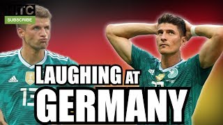 LAUGHING AT GERMANY