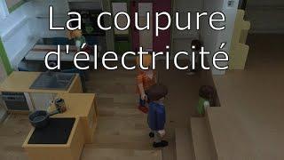 Film playmobil - La coupure d'électricité 🛋