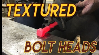 How to Make Textured Bolt Heads