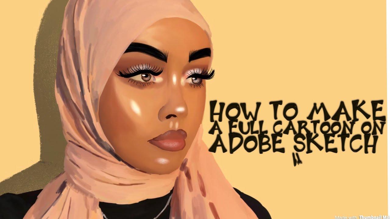 Adobe Sketch How To Make A Full Cartoon Youtube