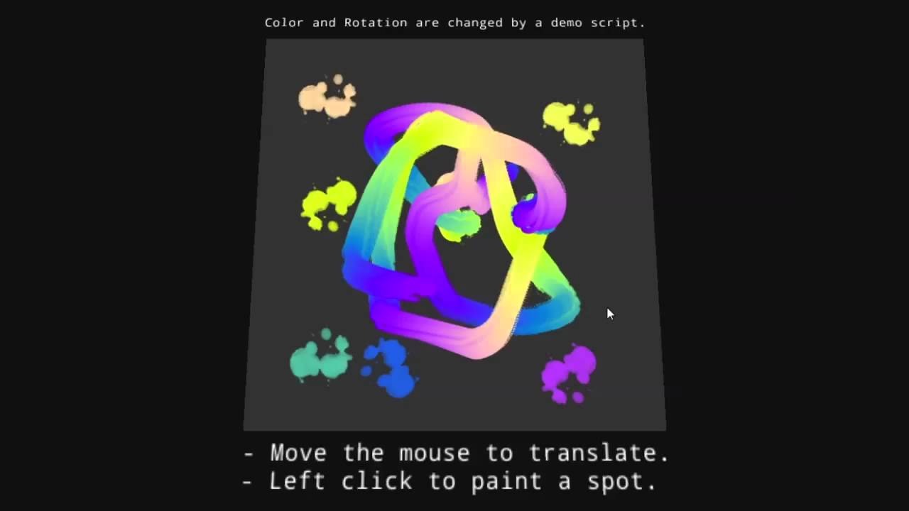 TexturePaint for Unity3d, a runtime texture painting tool