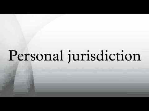 Personal jurisdiction