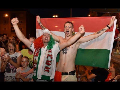 Szurkolók reakciója a négy kapott gólra a magyar-belga mérkőzés alatt