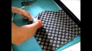 SLEEVE- How to cut Kameez  -  3/4
