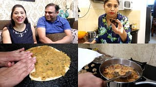 Humarey Ghar Koi Aaney Waala Hai !! 🤔  Simple Pin Wheel Samosa Snacks Recipe   Famisafe App Review
