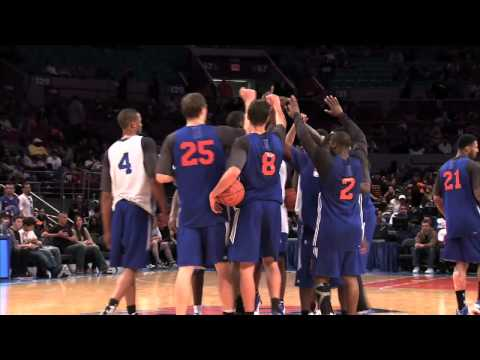 2010/2011 New York Knicks featuring Stoudemire, Felton, Chandler & Gallinari