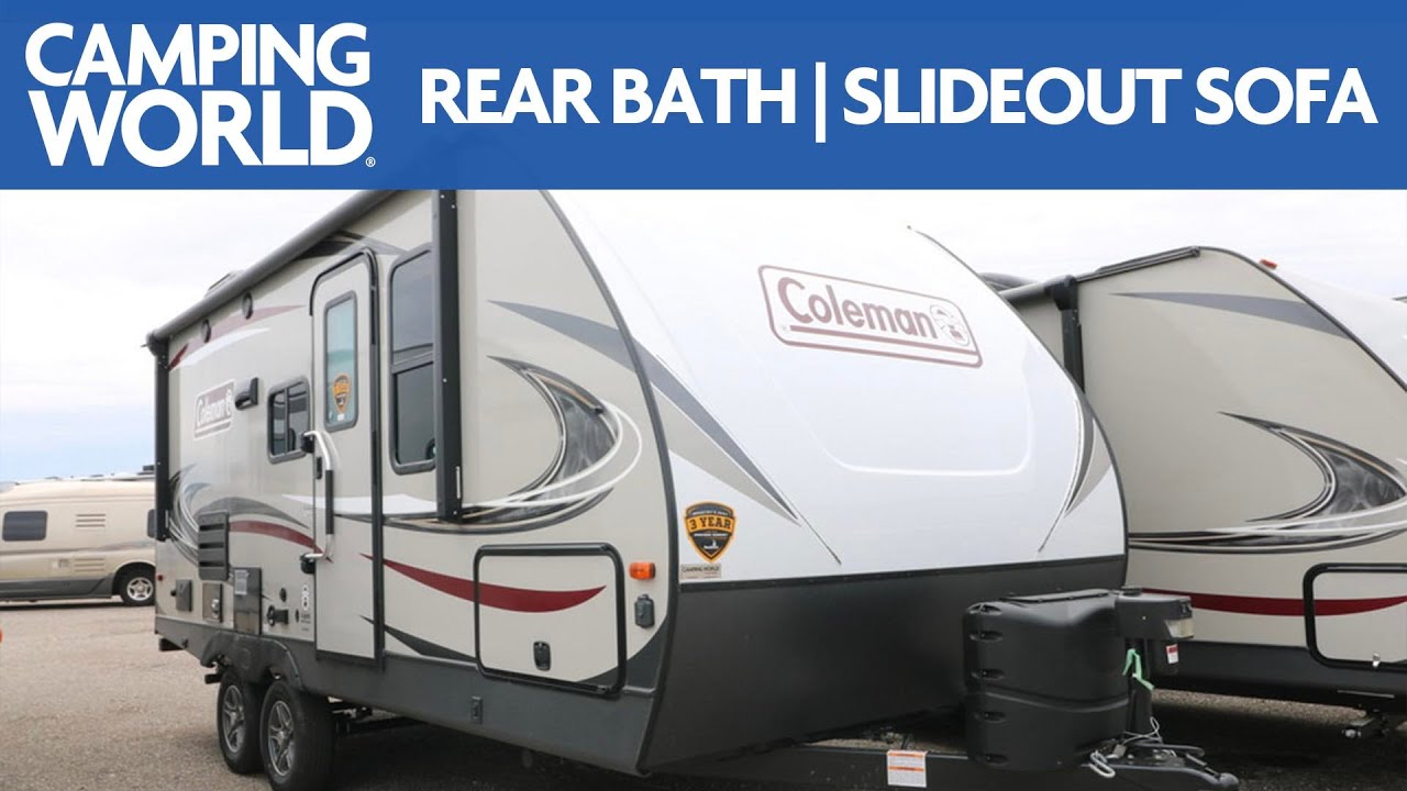 2020 coleman light 1805rb travel trailer rv review camping world [ 1280 x 720 Pixel ]