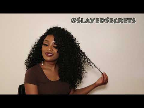 Afro Kinky Curly Synthetic Wig (22 Inches) ft. ATOZWIG | Slayed Secrets thumbnail