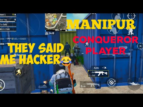 MANIPUR PUBG   THEY CALL ME HACKER LOL😂😂😂  