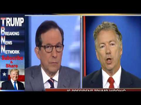 Senator Rand Paul Went On Fox News Sunday And Delivered A Bombshell That NO ONE Saw Coming