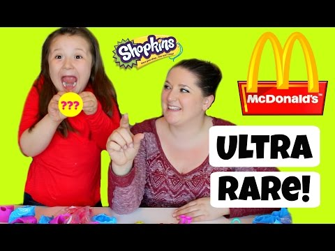 McDonalds Shopkins! With a LIMITED EDITION! Daisys Toy Vlog