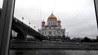 Смотреть видео Интересная экскурсия по Москве-реке. Старт от Пресненской набережной, Парк Горького онлайн