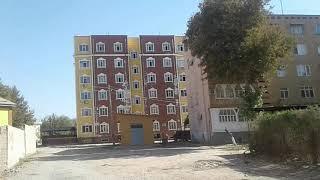 Кривые дома в Курган Тюбе Бохтар часть 1