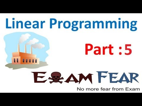 Maths Linear Programming Part 5 (Example : Graphical Method) CBSE Class 12 Mathematics XII
