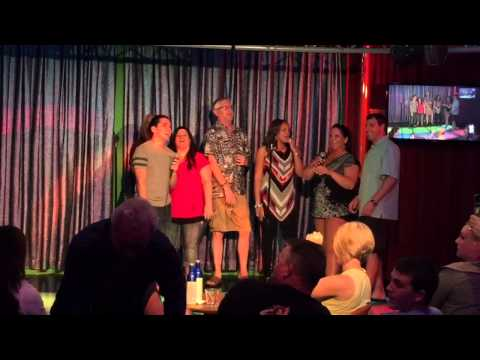 Karaoke on the Cruise Ship