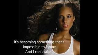 Unthinkable Remix- Alicia Keys ft Drake with lyrics