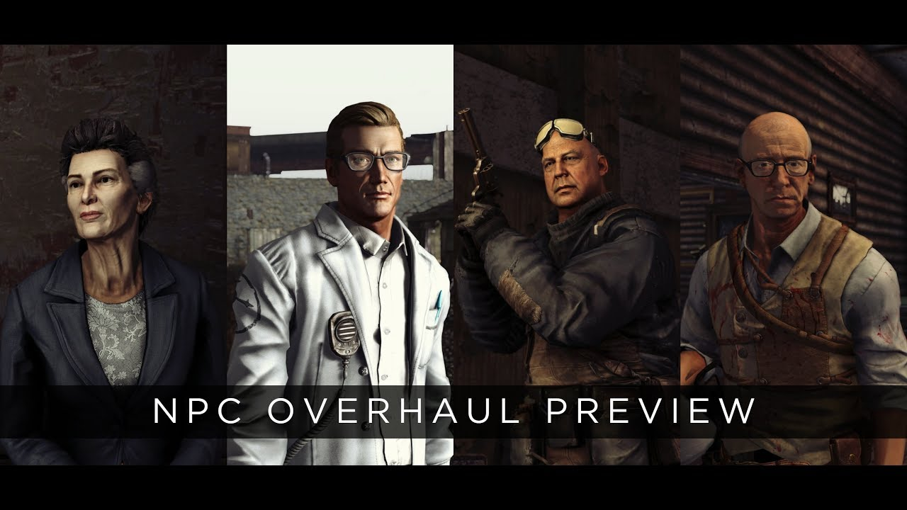 Fallout: New Vegas 2019 Mod - Drag's NPC and Faction Overhauls Preview 4K