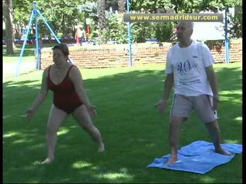 Clases de yoga en la piscina municipal de fuenlabrada youtube - Piscina de fuenlabrada ...