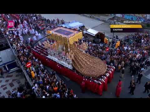 Semana Santa 2019 Málaga | Virgen Trinidad desde el Puente Aurora a Paseo Santa Isabel | 101tv