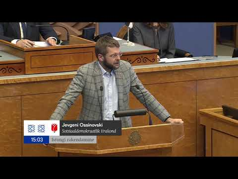 Riigikogu istung, 20. september 2021
