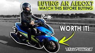 7 Reasons why you should buy the Yamaha Aerox 155 Non ABS