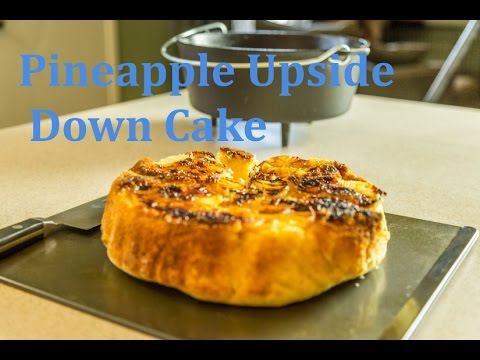 How To Make Pineapple Upside Down Cake In The Dutch Oven