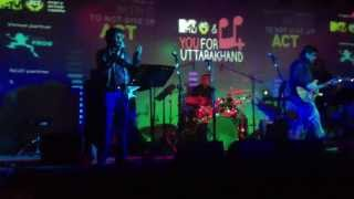 Saathi Salaam live by Clinton Cerejo and Sudeep Jaipurwale at Blue Frog New Delhi