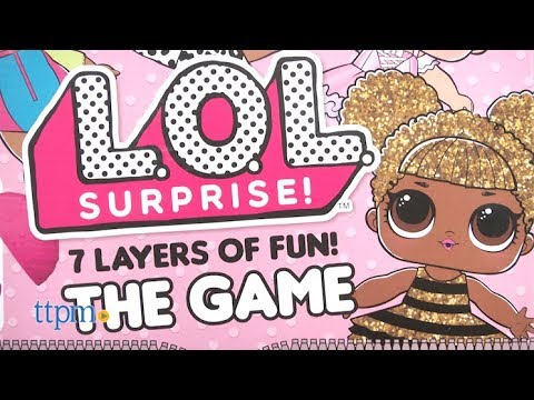L O L  Surprise! 7 Layers of Fun! The Game from Cardinal Games