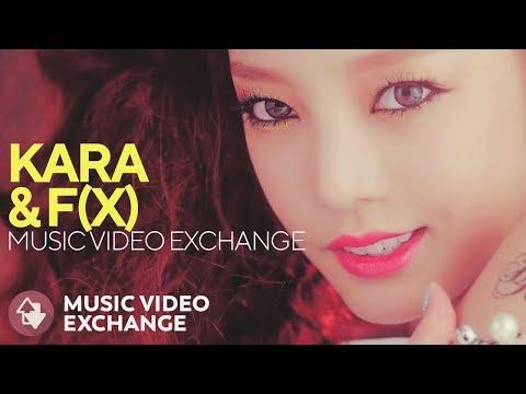 KARA & F(X) - Mamma Mia & All Mine (MV Exchange)
