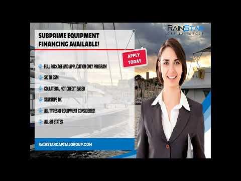 Subprime Equipment Financing 4