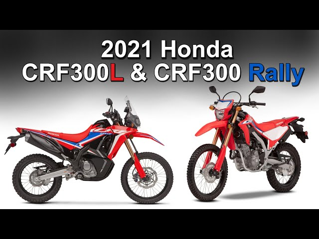 2021 Honda CRF300L & CRF300 Rally | More Power + Full Details Revealed
