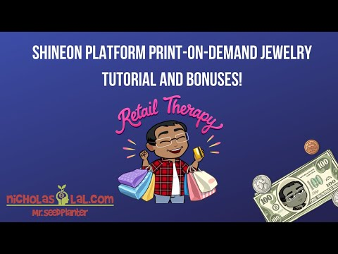 ShineOn Platform Tutorial, No Shopify Needed, Free To Sign Up, Bonuses
